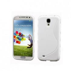 Husa Silicon Samsung Galaxy S4 i9500 White S-Line