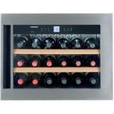 Vitrina de vin incorporabila WKEes 553, 46 L, Clasa A, Iluminare LED, Liebherr