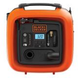 Compresor Black+Decker ASI400 auto 11Bar 12V, Black + Decker