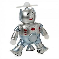 Robotul dansator, lumini si sunete,cadoul ideal pentru cei mici