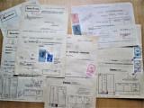 6 bucati: Depunere bancara, Valuta si Lei, Timisoara 1937-39. 17 timbre fiscale