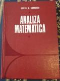 Analiza matematica - Eugen V. Dobrescu 1974