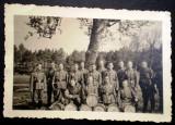 P.123 FOTOGRAFIE MILITARI GERMANI WEHRMACHT FANFARA TOBOSARI 9,4/6,4cm