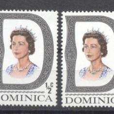 Dominica 1969 Queens x 4, MNH G.382