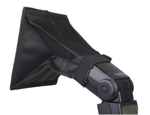 Softbox Flash Difuzer universal 15x17cm pt. blitz extern Nikon, Canon etc.