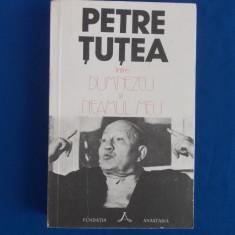 PETRE TUTEA - INTRE DUMNEZEU SI NEAMUL MEU , EDITIE GABRIEL KLIMOWICZ , 1992