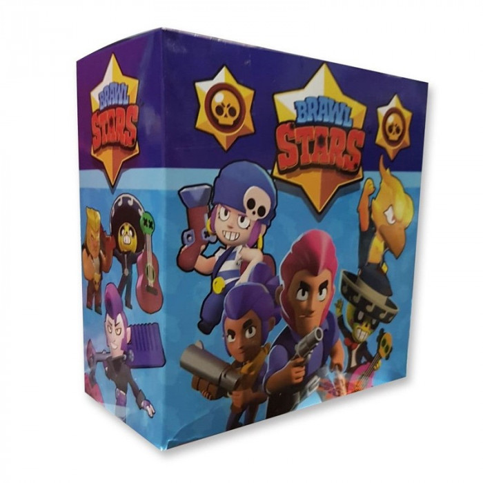 Set cartonase Brawl Stars Seria 1 Premium Gold 2019, 120 x 3 cartonase