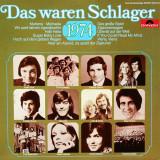 VINIL SELECTII   Various – Das Waren Schlager 1974 LP VG++