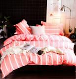 Lenjerie de pat din Bumbac 2 persoane 4 piese HX 27