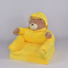 Fotoliu Urs de culoare galbena