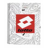 Caiet cu spira A4-120 de file matematica Lotto2