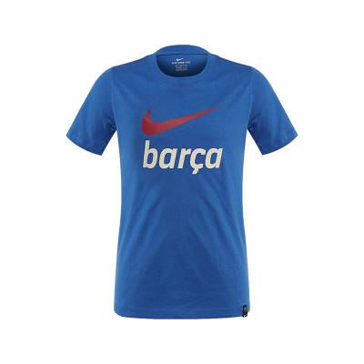 Tricou Nike FC Barcelona JR - CW4085-403 foto