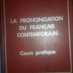 La prononciation du francais contemporain – Eugen Tanase
