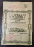 Actiuni 1924 Agrara - Societate de masini agricole si industriale - titlu