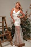 Rochie lungă cu bretele