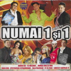 CD  Numai 1 Și 1 Ediția a-II-a, original, manele