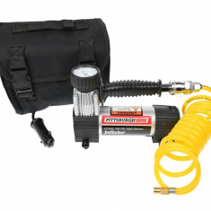 Compresor auto, 12V (bricheta), 100 PSI cu cilindru metalic PITTSBURGH - 63745