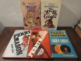 Pachet 5 romane POLIȚISTE / ROMANCE în limba engleză
