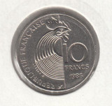 FRANTA - 10 Francs 1986 Robert SCHUMAN , LF1,35, Europa
