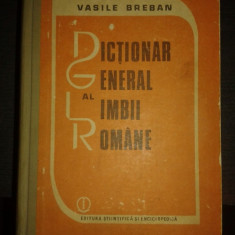 Dictionar general al limbii romane – Vasile Breban