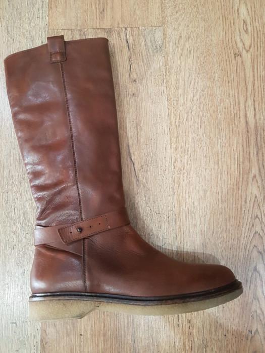 LICHIDARE STOC! Superbe cizme dama noi piele naturala fina foarte comode 37