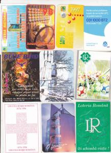 bnk cld Lot 10 calendare romanesti vechi