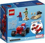 Lego Super Heroes Confruntarea Dintre Omul Paianjen Si Sandman