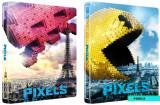 Pixels: O aventura digitala / Pixels - BLU-RAY 3D + DVD (Steelbook) Mania Film