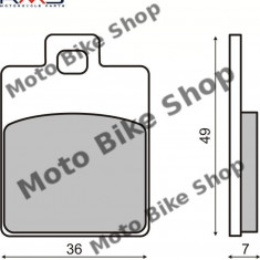 MBS Placute frana Piaggio Zip/Liberty MCB827, Cod Produs: 225100300RM