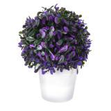 Cumpara ieftin Planta artificiala Verde cu Ciclam 20 cm in ghiveci