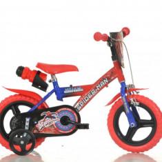 Bicicleta copii 12'' Spiderman PlayLearn Toys