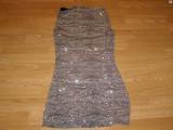 Costum carnaval serbare rochie tigru pentru adulti marime S, Din imagine