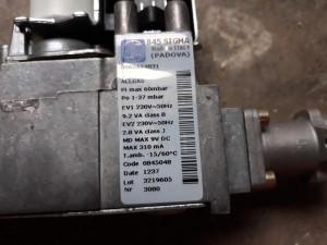 Vană gaz Sit Sigma 845 centrala termica