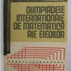 OLIMPIADELE INTERNATIONALE DE MATEMATICA ALE ELEVILOR de I. CUCULESCU , 1984
