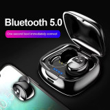 Casti wireless TWS Bluetooth 5.0 Stereo HIFI Handsfree apeluri stereo