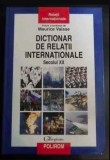 Dictionar de relatii internationale  : secolul XX / Colette Barbier et. al.