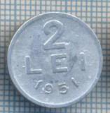 AX 720 MONEDA- ROMANIA - 2 LEI -ANUL 1951 -STAREA CARE SE VEDE