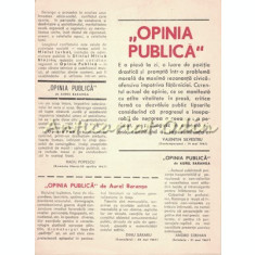 Opinia Publica - Aurel Baranga