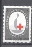 Austria Österreich 1963 Red Cross, MNH S.449