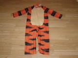 Costum carnaval serbare animal tigger tigru pentru copii de 3-4 ani, Din imagine