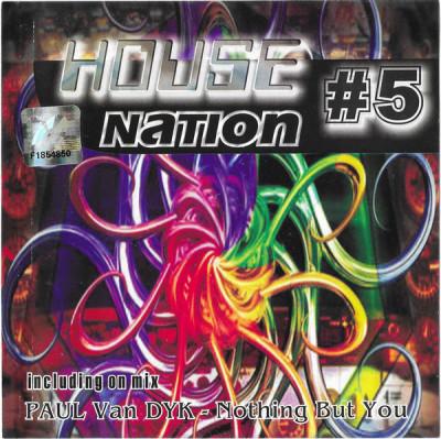 CD Various – House Nation #5, original foto