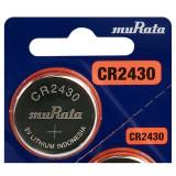 Baterie litiu Murata CR2430 3V 1 Bucata /Set
