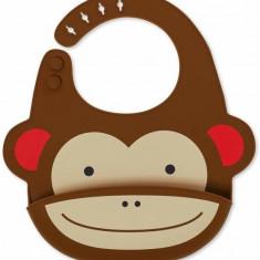 Bavetica de silicon Fold and Go Zoo Skip Hop - Maimutica
