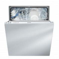 Masina de spalat vase incorporabila Indesit DIF14B1, 13 seturi, 4 programe, program Eco, 60 cm, clasa A+