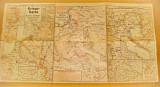 B678-ww1-Harta militara razboi veche 27 Iunie-4 Iulie 1915 Germania. Nr 39.