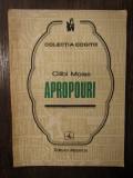 APROPOURI -CILIBI MOISE