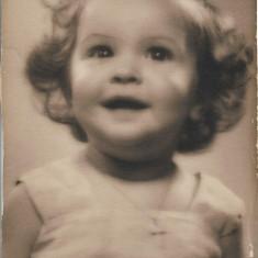 Fotografie portret copil veche