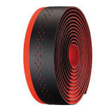 Ghidolina bicicleta, din piele ecologica/gel, negru/rosu, 0630