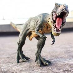 Figurina Dinozaur T-Rex real , Verde ,29.5x6.5x13 cm