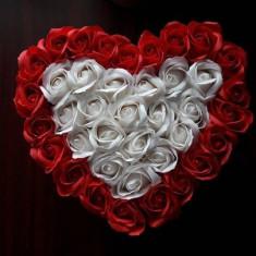 Aranjament floral, trandafiri de sapun